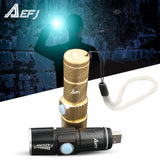 Mini USB Q5LED Flashlight