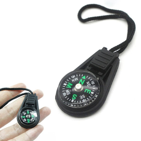 Mini Compass Survival Kit with Keychain