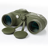 10x50 Waterproof Fogproof HD Binoculars with Rangefinder & Compass