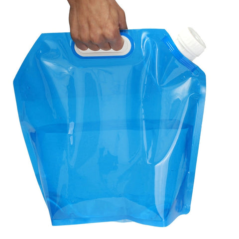 Portable Camping Hiking 5L Foldable Water Storage