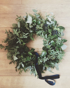 GREENERY BESPOKE FUNERAL WREATH