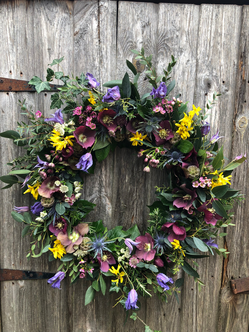 LARGE BIODEGRADABLE  BESPOKE FUNERAL WREATH