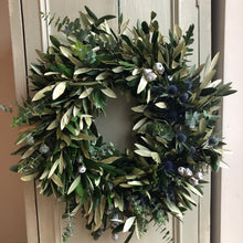 BLEU LUXURY WREATH