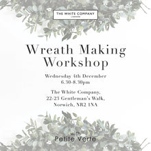 THE WHITE COMPANY LUXURY CHRISTMAS WREATH WORKSHOP