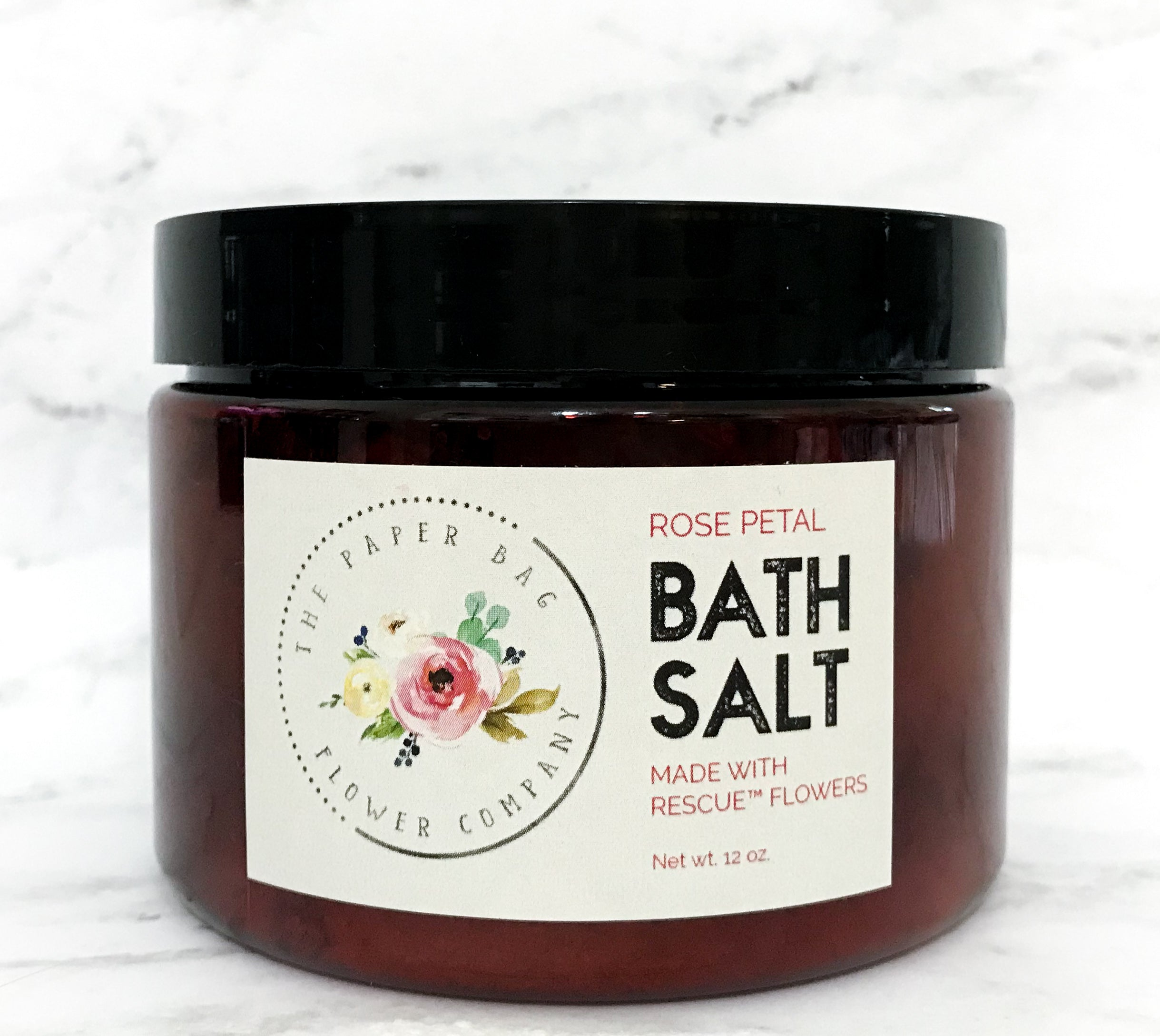 12 oz. Rose Petal Bath Salt