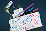 Date Stamp Pencil Pouch