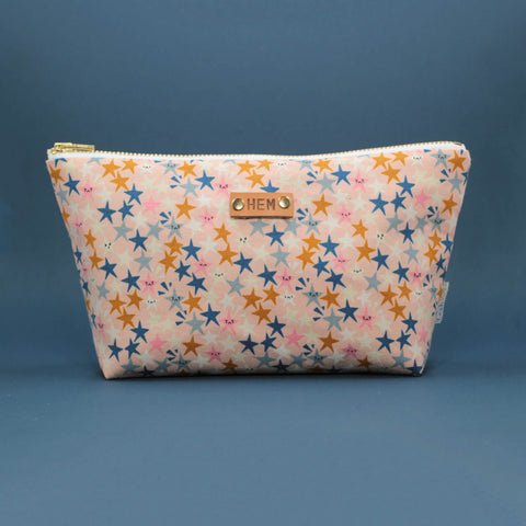 Starstruck Makeup Bag in Peach