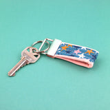 Mini Key Fob, Starstruck in Teal