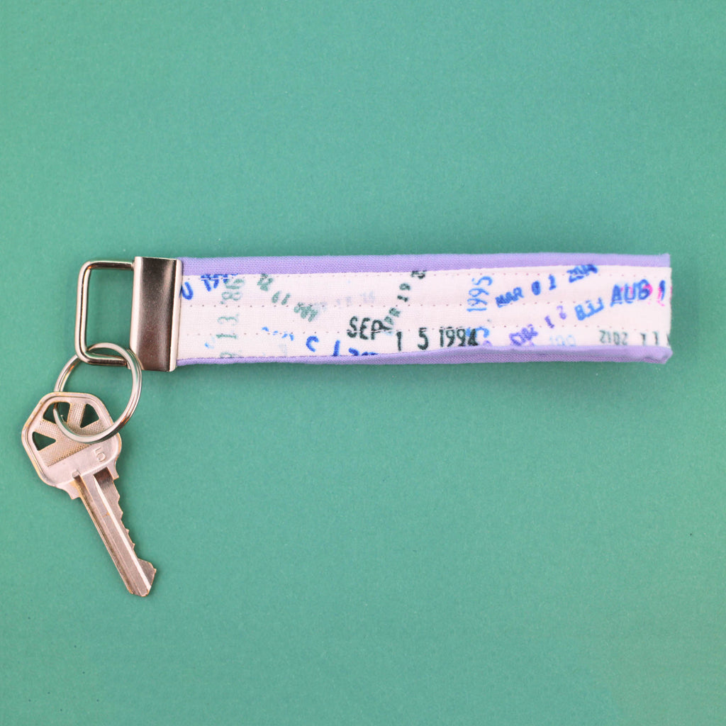 Date Stamp Key Fob