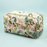 Garden Toiletry Case & Brush Pouch BUNDLE
