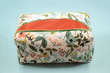 Garden Double Zip Makeup Bag
