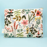 Garden Catch-All Clutch, Natural