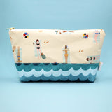 Beach Babes Makeup Bag, Sand