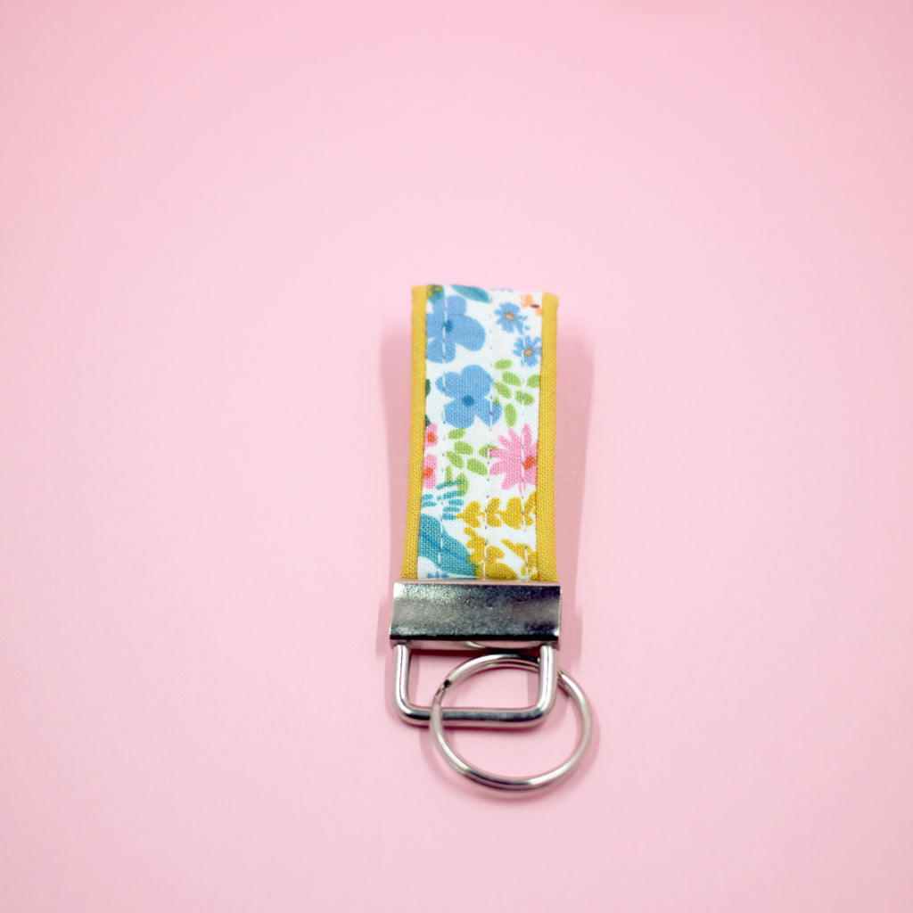 Meadow Mini Key Fob in Yellow