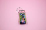 Meadow Mini Key Fob in Navy