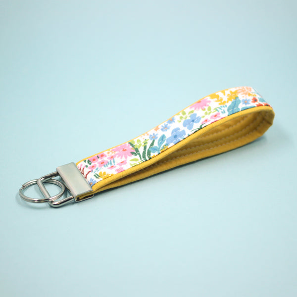Meadow Key Fob in Yellow