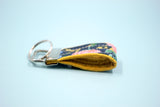 Navy Bouquet Mini Key Fob