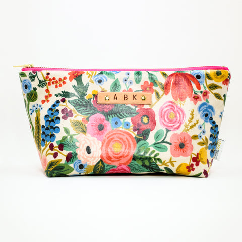 Wildwood Wipeable Makeup Bag