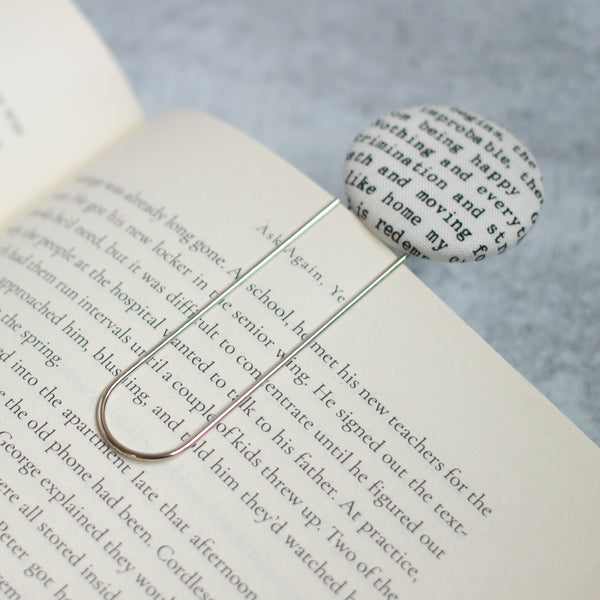 Poetry Bookmark Clip