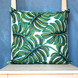 Monstera Throw Pillow Cover