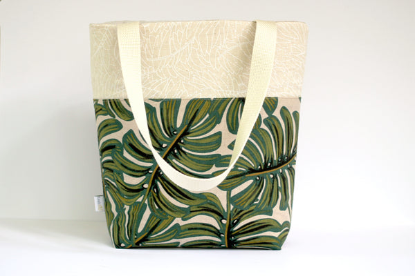 Monstera Everyday Tote