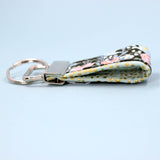 Mini Key Fob, Hunter Rosa