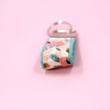 Mini Key Fob, Peach Rosa