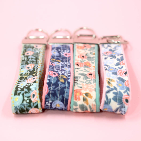 Rosa Key Fobs, Set of 4