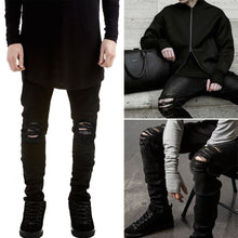 Men Black Slim Fit Jeans