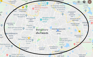 24 Hour Delivery - Bangalore - Inside ORR Region