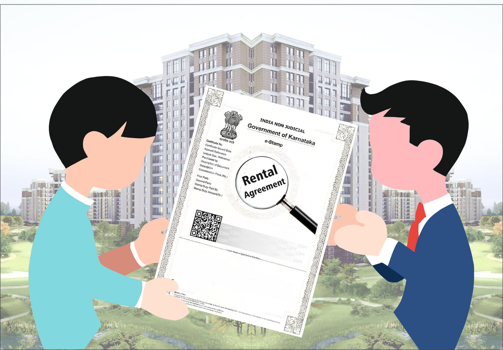 Rental Agreement Karnataka (3 Working Days Delivered all over India)