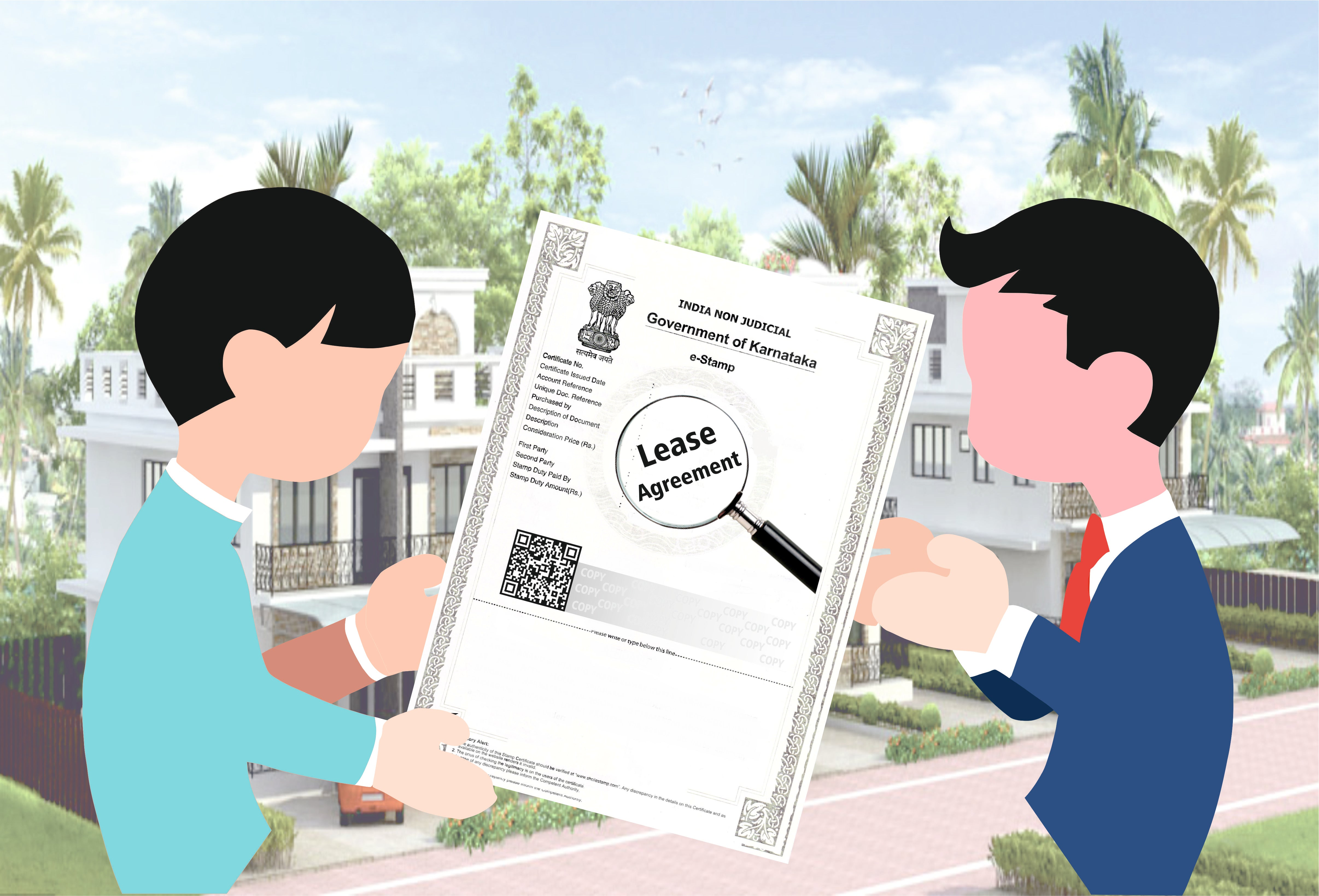 Lease Agreement For Villa Vata Rental Agreement Estamp Karnataka