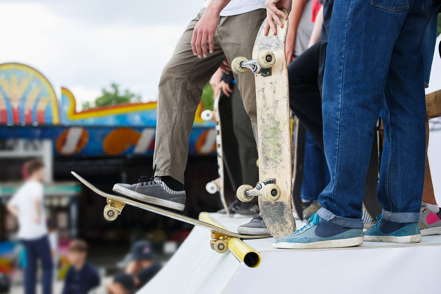 Skateboarders Team Up With Charity To Raise £1,750