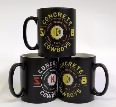 Concrete Cowboys Matt Finish Mugs