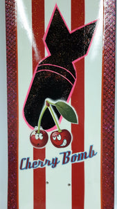 Cherry Bomb Hand-Painted Deck