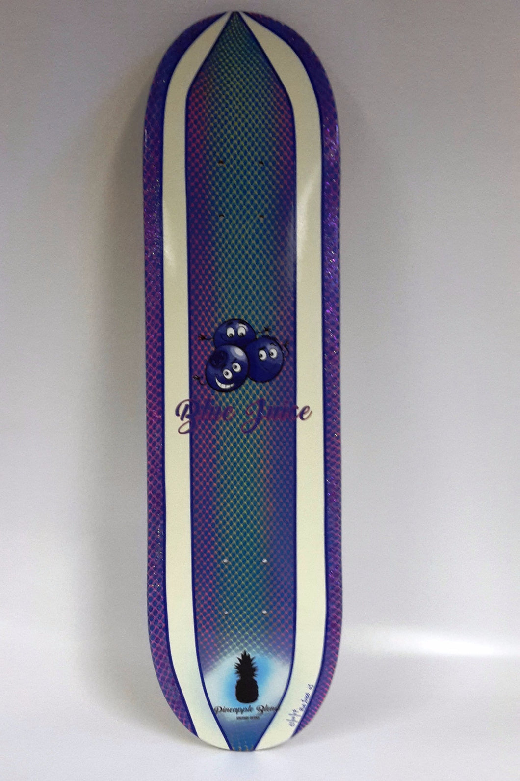 Blue Juice Hand-Painted Deck