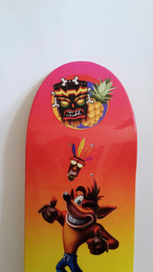 Crash the Pineapple Adventure Limited Edition Deck