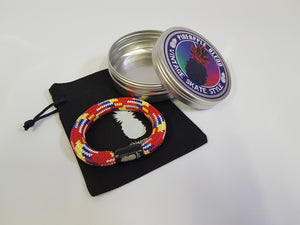 Cherry Rainbow Rope Bracelet