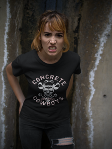 limited edition Concrete Cowboys crossed trucks T-Shirt