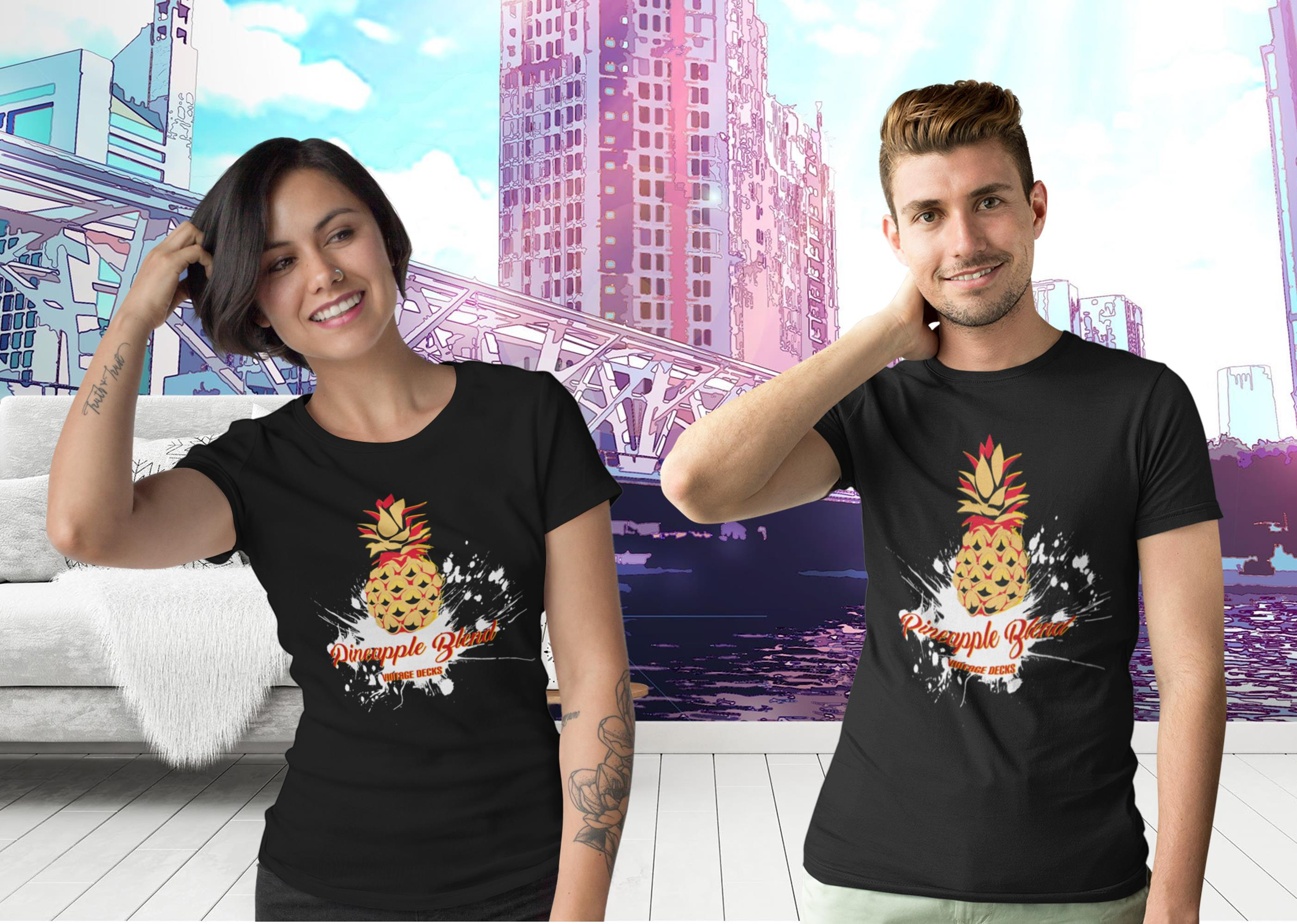 Golden Pineapple T-Shirt