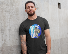 Ride On  Blue circle Logo T-Shirt