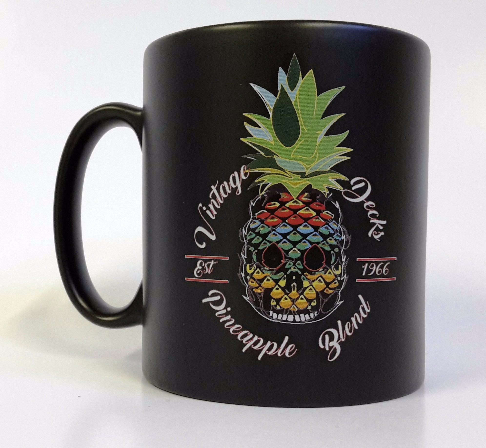 Skull Pineapple Matt Finish Mug