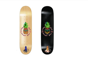 Pineapple Skull  Logo Deck