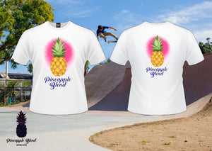 original paint spray Logo Pineapple Blend T-Shirt