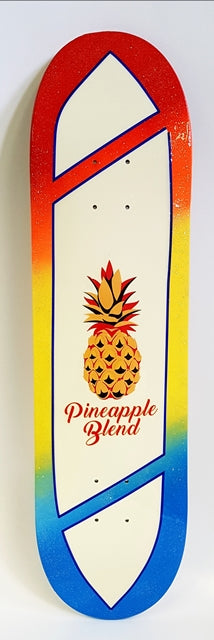 Surfboard style Pineapple Deck