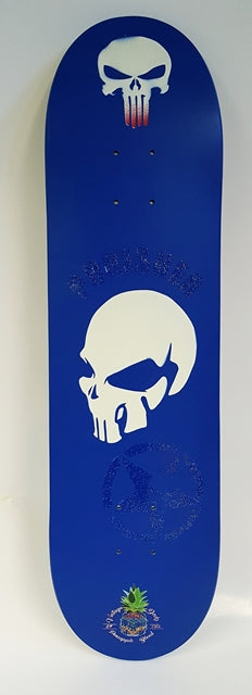 The Punisher Hand- Painted Deck