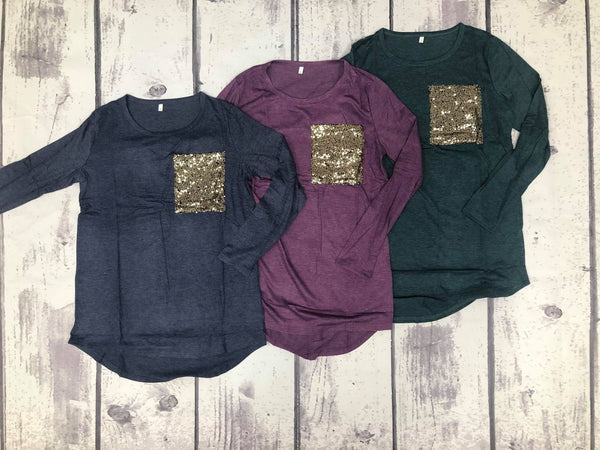 Glitter Pocket Tunic