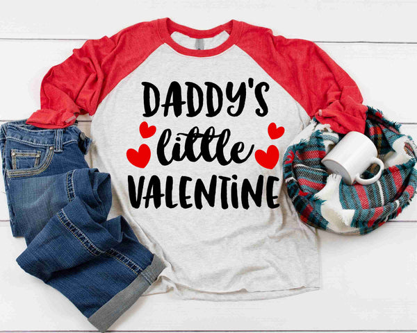 Daddy's Little Valentine - Transfer