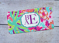 License plate- #35 Lilly Inspired
