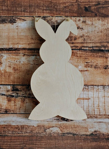 Wood -  Easter Bunny